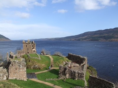 Urquhart Castle, on the shores of Loch Ness. Scotland. © Addy