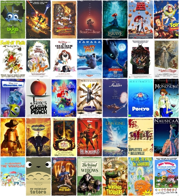 Image Result For All Disney Pixar