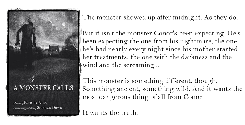 A Monster Calls (Patrick Ness & Siobhan Dowd)