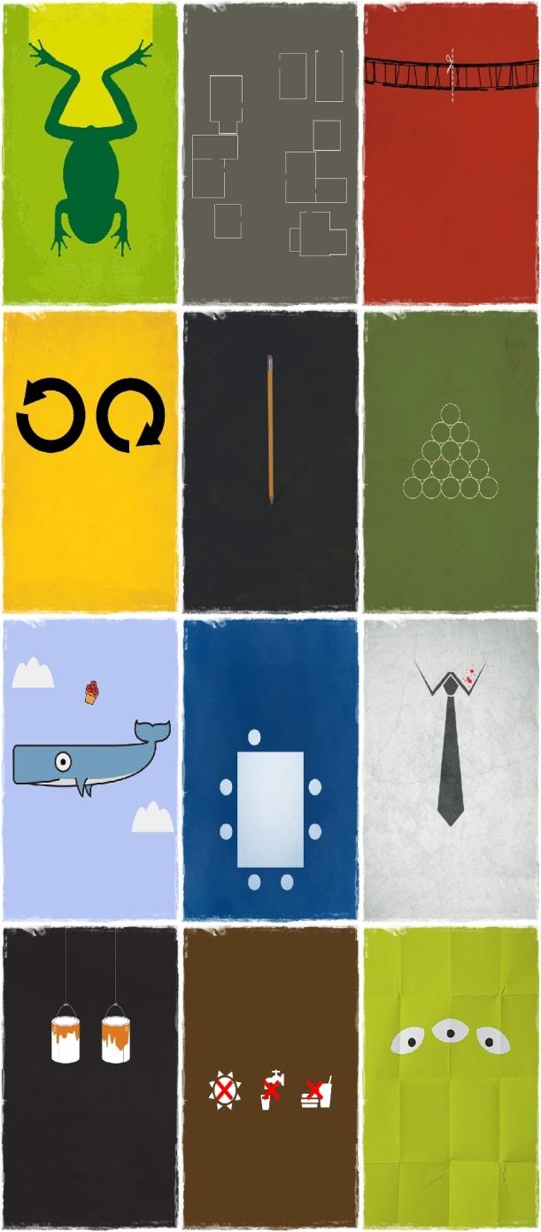 Minimal Movie Poster Montage