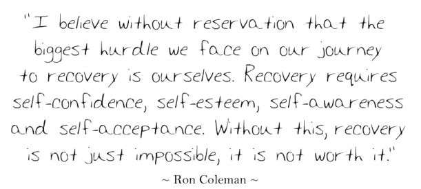 RECOVERY QUOTE