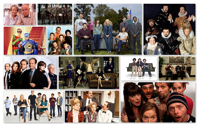 Thirteen of my favourite TV comedies