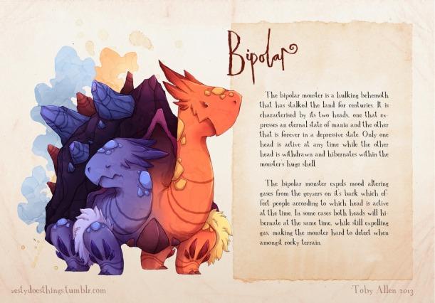 bipolar creature