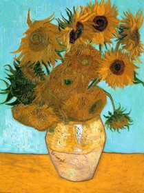 Still Life with Twelve Sunflowers