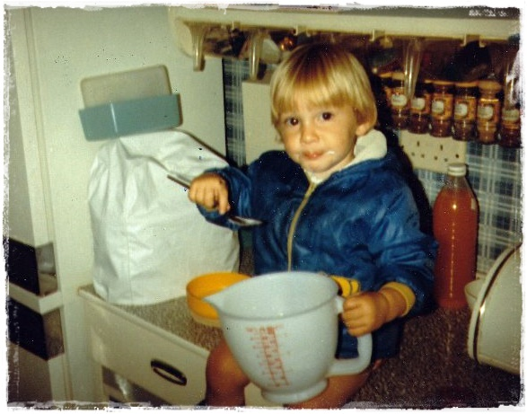 1981 licking the bowl