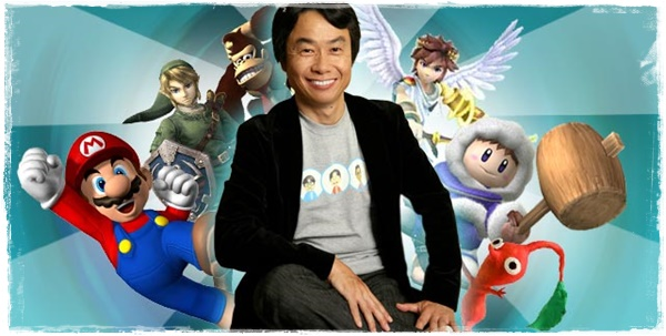 Shigeru Miyamoto; creator of such video game megastars as Mario and Link, Mr Miyamoto spoke to me when I was but a humble teenager and told me I could achieve whatever dream I held dear.