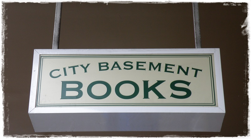 City Basement Books; the only second hand bookstore in Melbourne CBD!