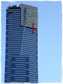 Eureka Tower; the tallest building in Melbourne.