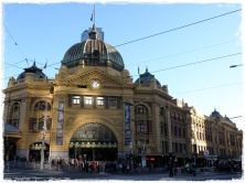 Flinders Street Station, Melbourne.