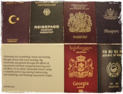Passports, Immigration Museum