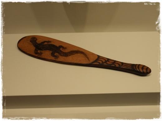 Indigenous Paddle