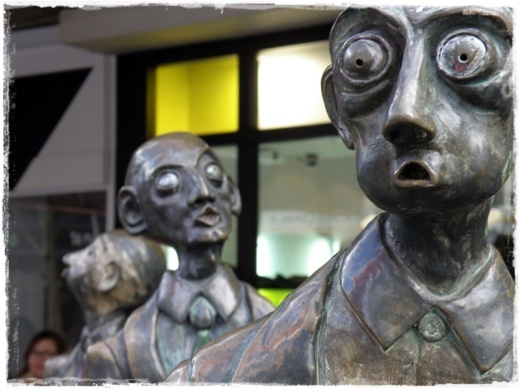 The Gentlemen, Bourke Street, Melbourne.