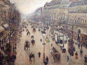Boulevard Montmarte (Camille Pissaro)
