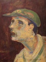 Cricketer (Fred Williams)