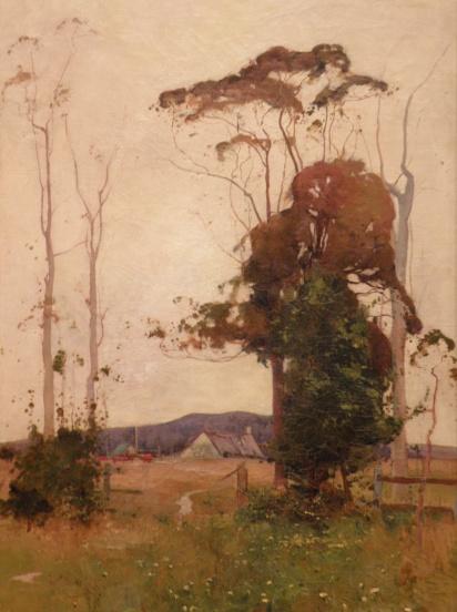 Farm Landscape (Sydney Long)