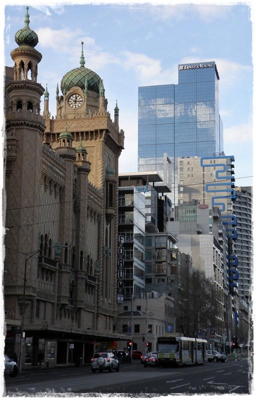 Flinders Street, Melbourne.