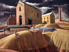 Kapunda Mines (Jeffrey Smart)