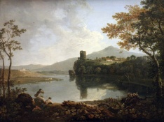 Llyn Peris and Dolbadarn Castle (Richard Wilson)