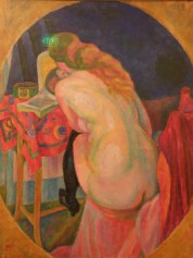 Nude Woman Reading (Robert Delaunay)
