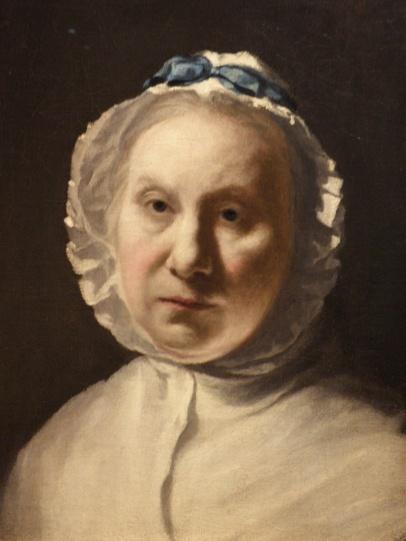 Portrait of an Old Lady (Francoise Duparc)