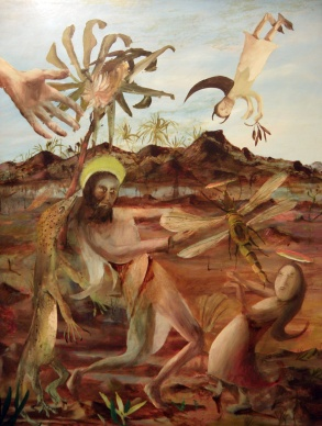 Temptation of St Anthony (Sidney Nolan)