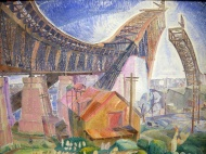 The Bridge in Curve (Grace Cossington Smith)