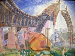 The Bridge in Curve (Grace Cossington Smith)