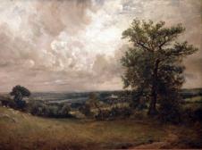 West End Fields, Hampstead, Noon (John Constable)