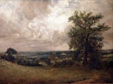 West End Fields, Hampstead, Noon (John Constable)